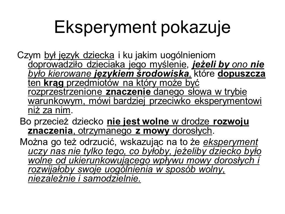 Przykładem typowym Zbieżności odniesień przedmiotowych przy braku zbieżności operacji myślowych, leżących u podstaw znaczenia słowa, jest istnienie synonimów w każdym języku.