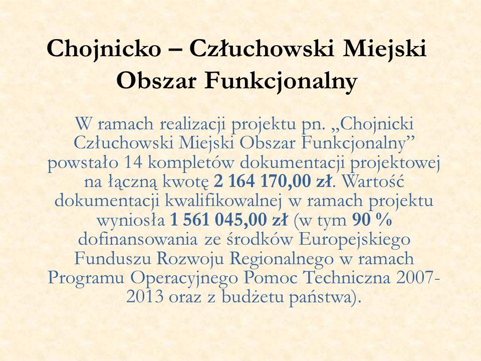 Chojnicko – Człuchowski Miejski Obszar Funkcjonalny W ramach realizacji projektu pn.