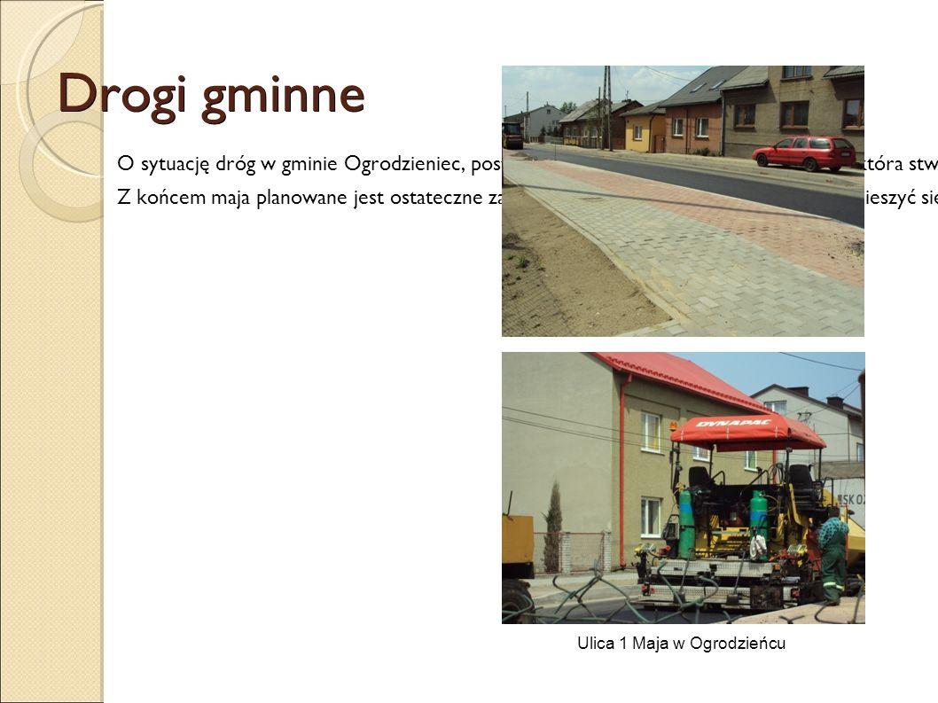 Drogi gminne O sytuację dróg w gminie Ogrodzieniec, postanowiłyśmy zapytać panią Mirosławę K., która stwierdziła, że przez ostatni rok drogi bardzo si