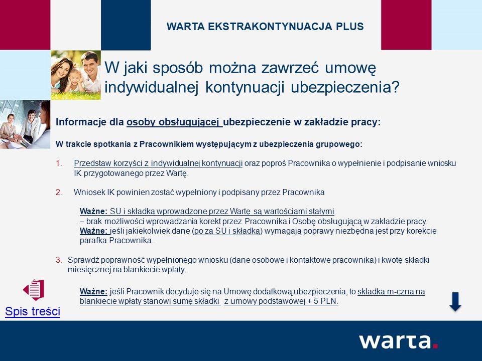 Informacje dla osoby obsługującej ubezpieczenie w zakładzie pracy: 4.Uzupełnij daty: wystąpienia z ubezpieczenia grupowego i rozwiązania umowy o prace oraz serię i numer polisy grupowej.