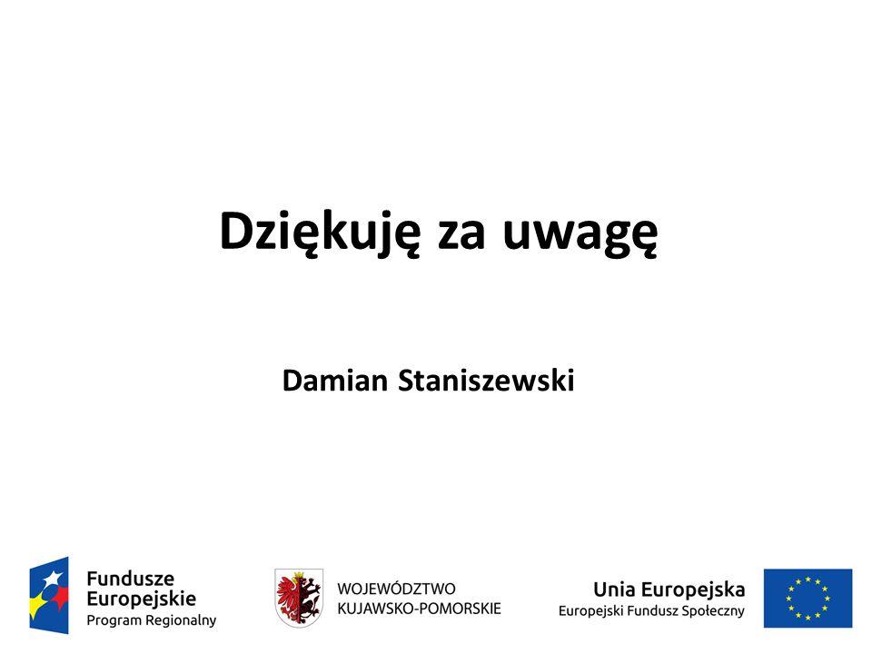 Dziękuję za uwagę Damian Staniszewski