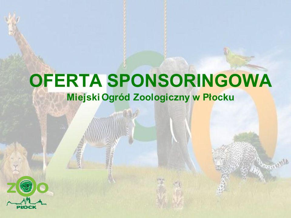 OFERTA SPONSORINGOWA Miejski Ogród Zoologiczny w Płocku