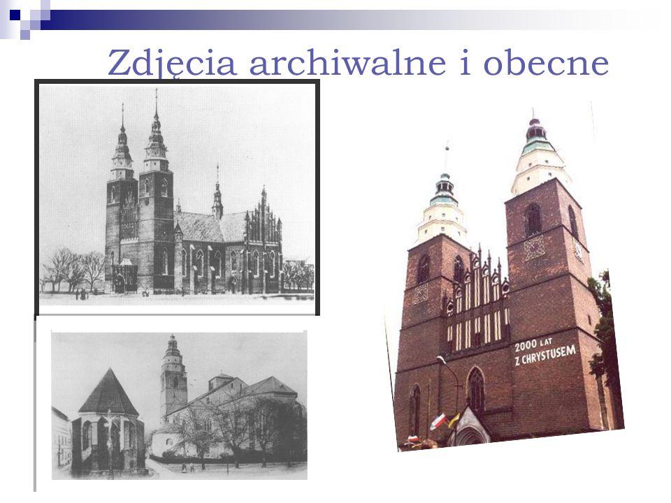 Zdjęcia archiwalne i obecne