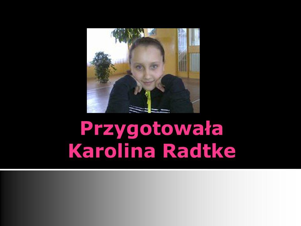 Przygotowała Karolina Radtke