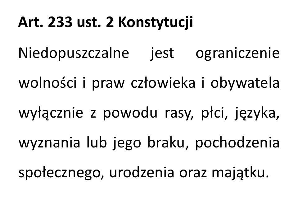 Art. 233 ust.