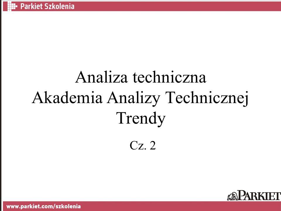 Analiza techniczna Akademia Analizy Technicznej Trendy Cz. 2