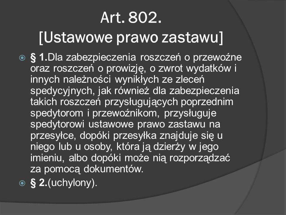 Art. 802.