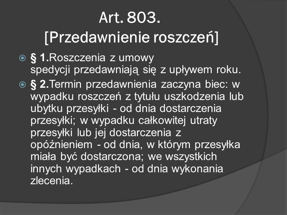 Art. 803.