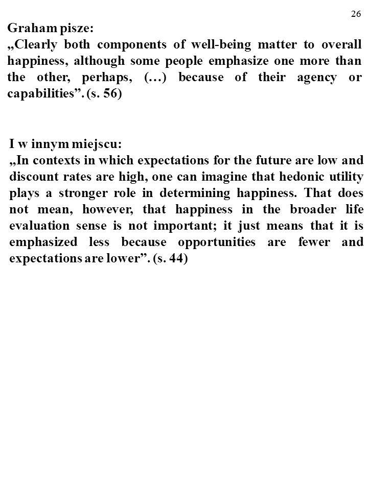 """25 Np. autorka hasła """"economics of happiness z NPDE z 2008 r."""