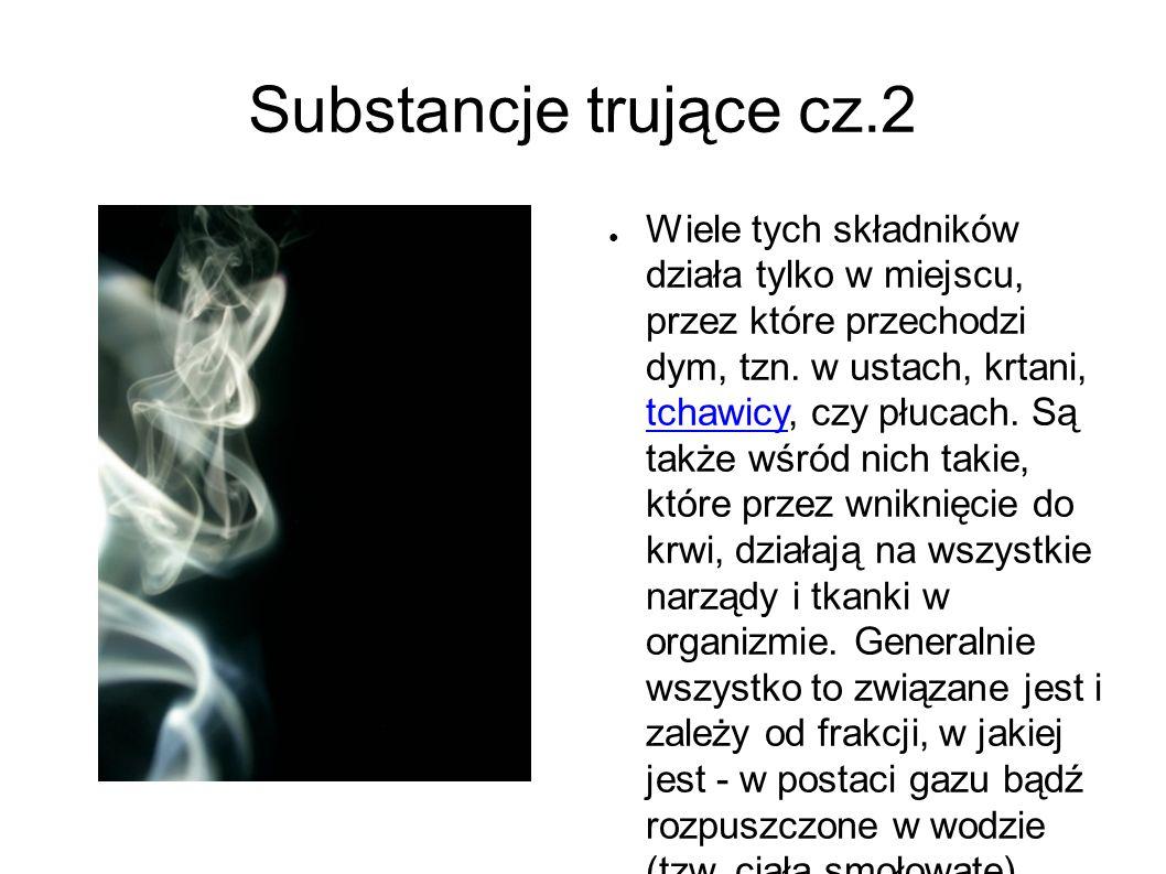 Negatywne skutki.● 1) Palenie śmierdzi.