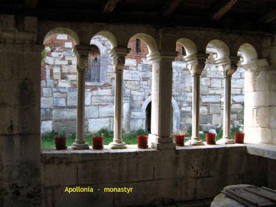 Apollonia - monastyr