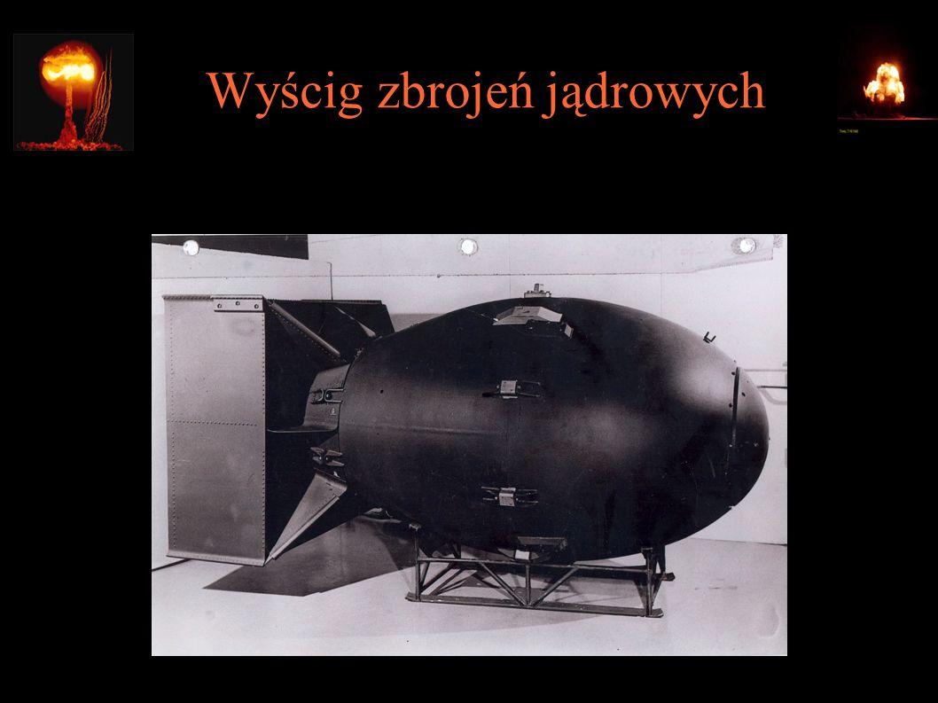 Wyścig zbrojeń jądrowych Szymon Sokół