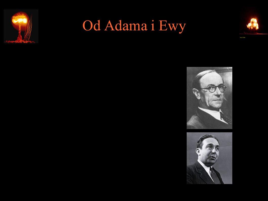 Od Adama i Ewy ● 1932 – odkrycie neutronu (sir James Chadwick) ● 1933 – koncept reakcji łańcuchowej (Leó Szilárd)