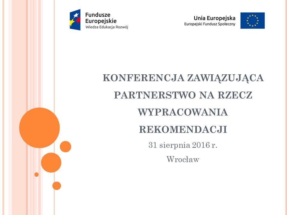 Informacje podstawowe o projekcie: Termin realizacji: 15.06 – 31.12.2016 r.
