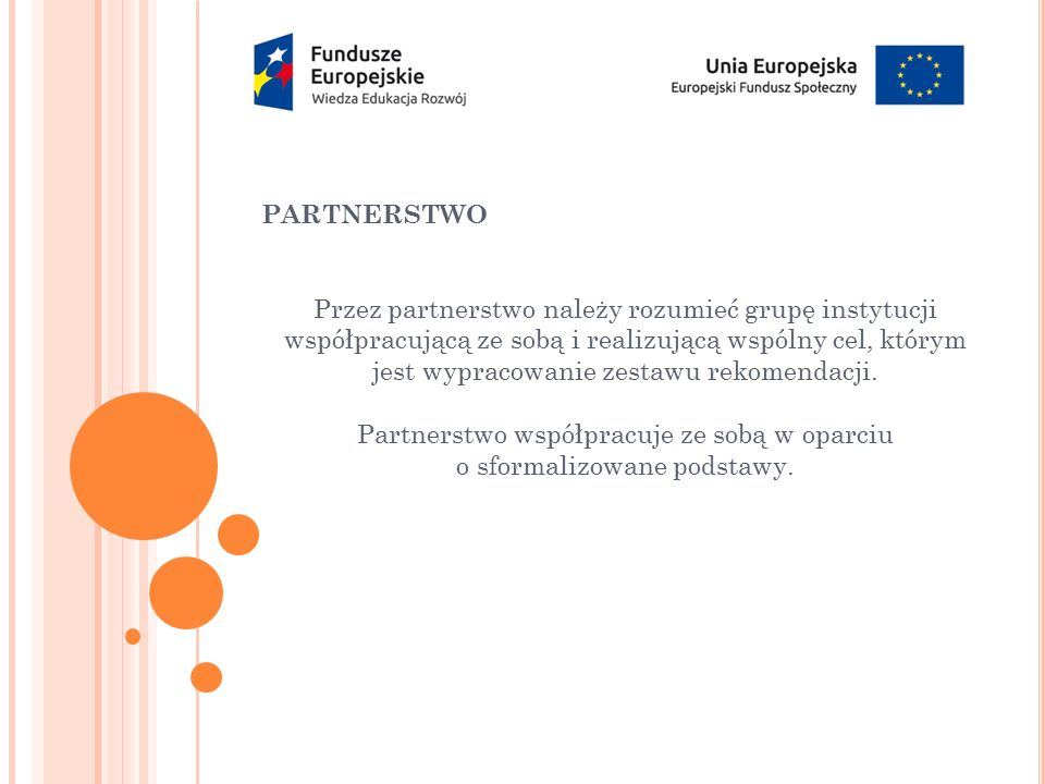PARTNERSTWO – CZŁONKOWIE: 1.IRPSemper Avanti 2.IRPIzba Gospodarcza Europy Środkowej 3.IRPPHU Włodzimierz Smoliński Headhunters 4.