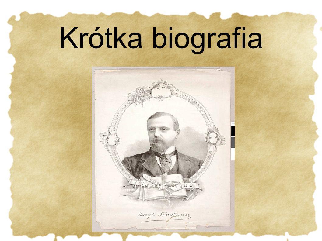 Sienkiewicz wiele razy dawał dowody ogromnego patriotyzmu.
