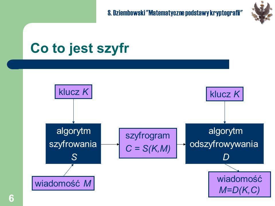 6 S. Dziembowski