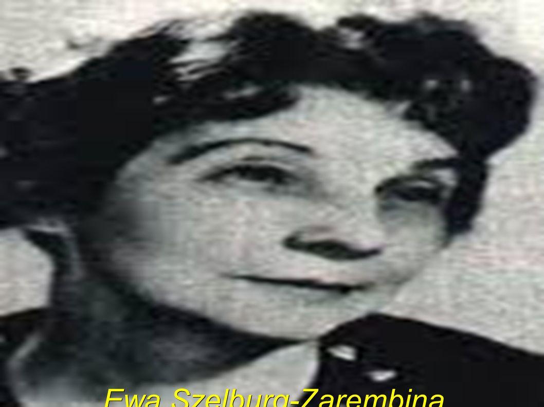 Ewa Szelburg-Zarembina (ur.10 kwietnia 1899 w Bronowicach k.