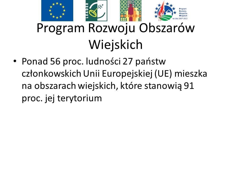 Program Rozwoju Obszarów Wiejskich Ponad 56 proc.
