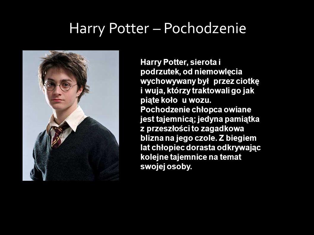 Harry Potter, sierota i podrzutek, od niemowlęcia wychowywany był przez ciotkę i wuja, którzy traktowali go jak piąte koło u wozu.