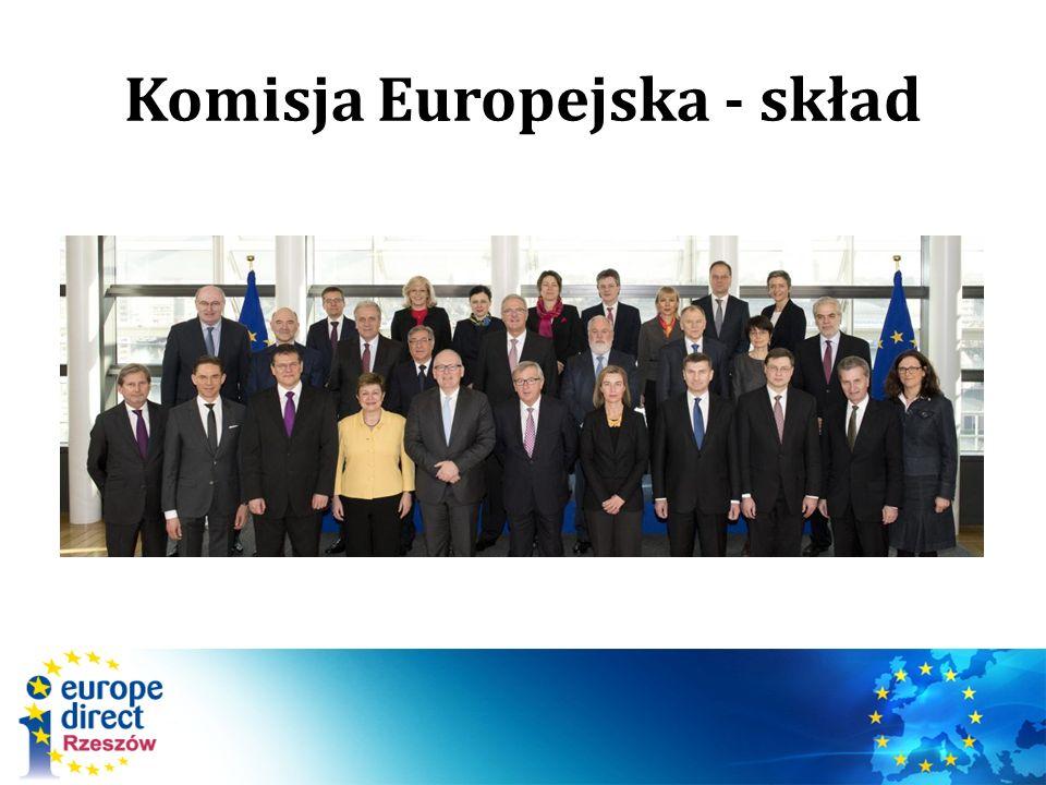 Komisja Europejska - skład