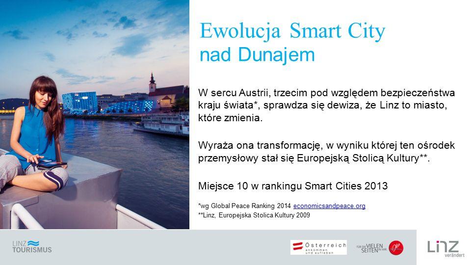 W sercu Austrii, trzecim pod względem bezpieczeństwa kraju świata*, sprawdza się dewiza, że Linz to miasto, które zmienia.