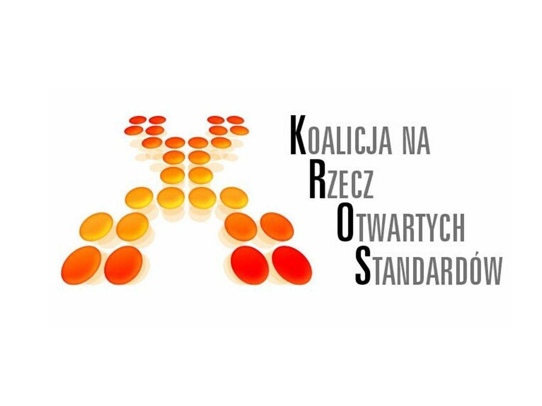 Otwarte standardy wymiany i zapisu informacji warunkiem rozwoju społeczeństwa informacyjnego Konferencja prasowa Koalicji na Rzecz Otwartych Standardów Warszawa, 14 grudnia 2006 r.
