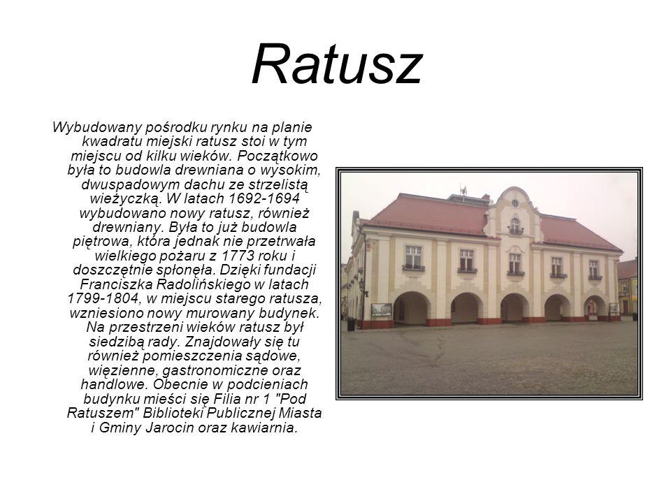 Kościół p.w.św. Marcina Pierwsza wzmianka o kościele pochodzi z 1257 roku.