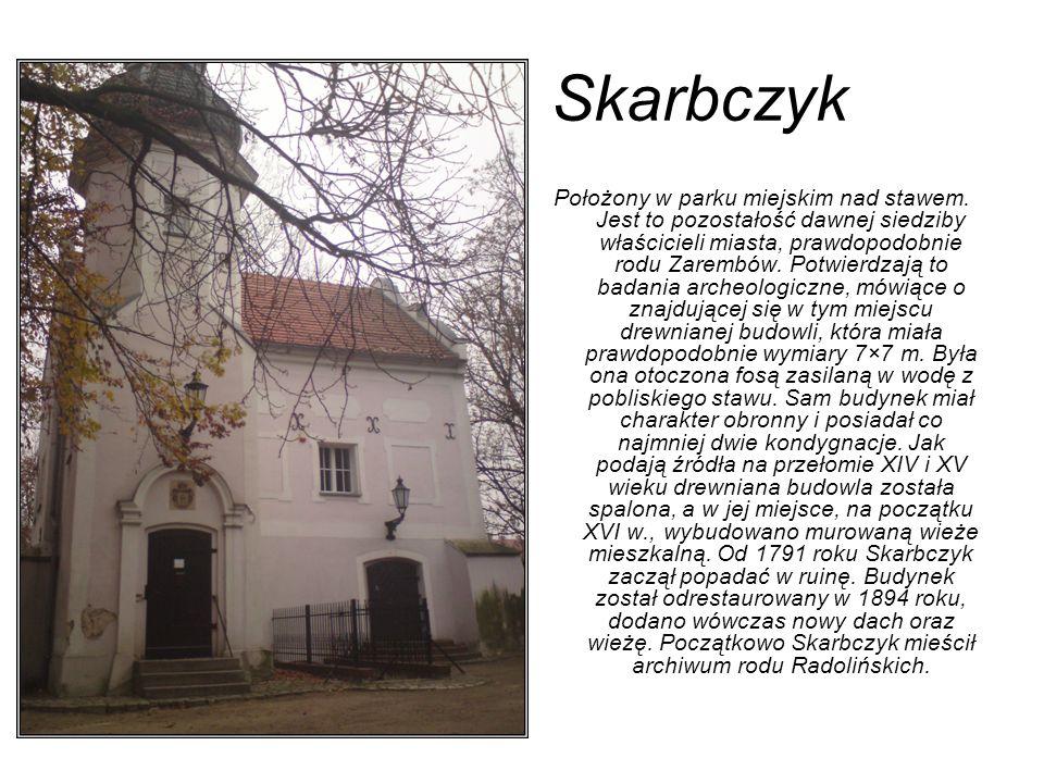 Kościół p.w.św. Jerzego Przy ulicy Wrocławskiej znajduje się kościół pw.
