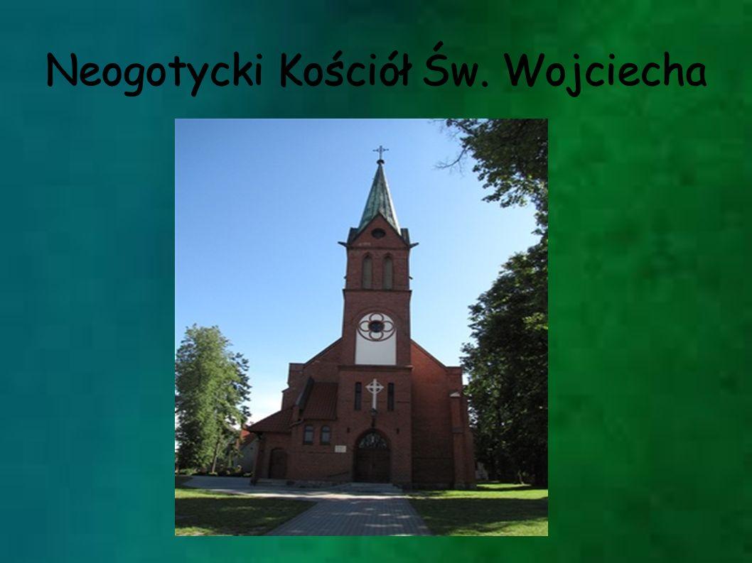 Neogotycki Kościół Św. Wojciecha