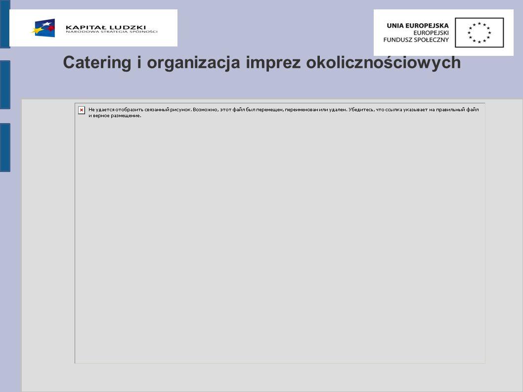 Catering i organizacja imprez okolicznościowych