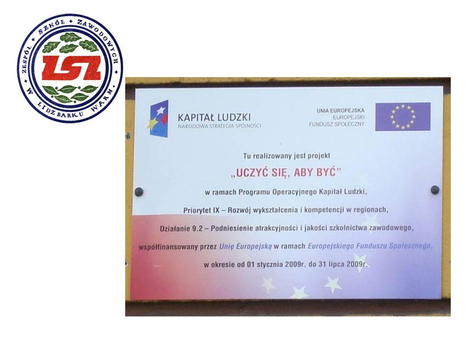 Kurs KADRY i PŁACE Zajęcia teoretyczne odbywały się w szkole, natomiast część praktyczna w Centrum Edukacji OSKAR w Olsztynie.