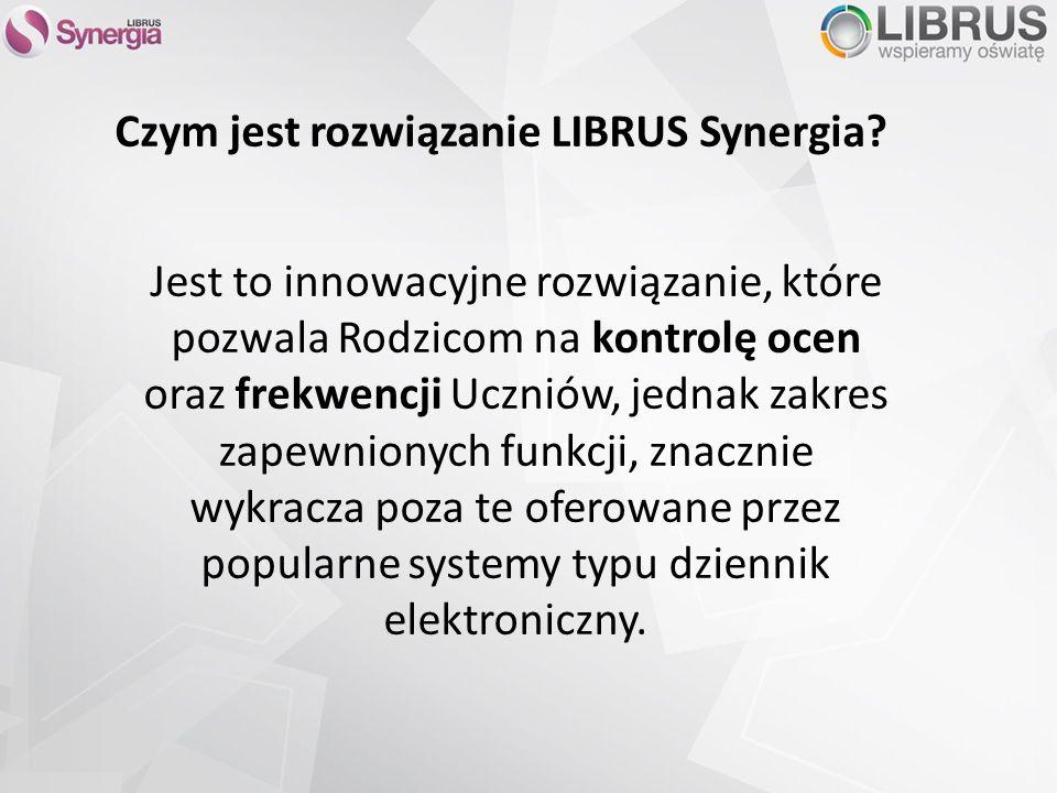 Czym jest rozwiązanie LIBRUS Synergia.