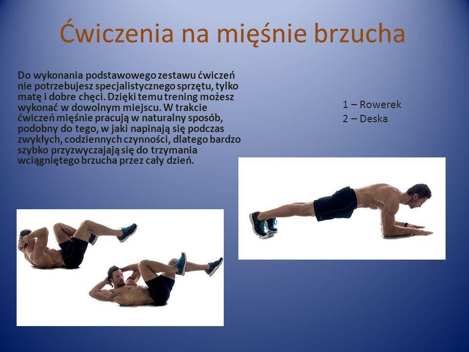 Ćwiczenia na mięśnie brzucha Do wykonania podstawowego zestawu ćwiczeń nie potrzebujesz specjalistycznego sprzętu, tylko matę i dobre chęci.
