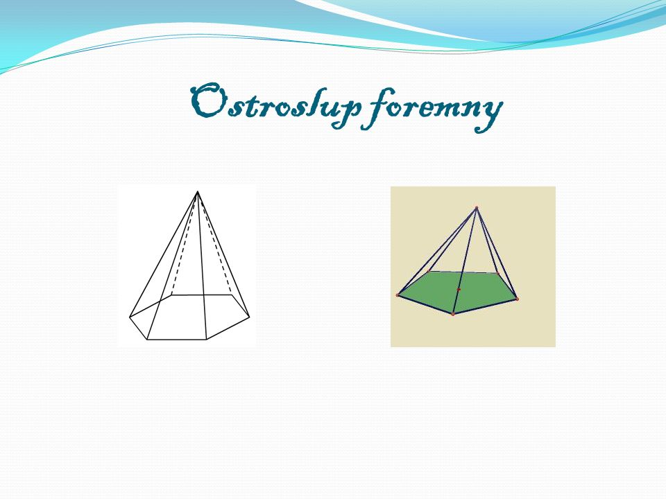 Ostroslup foremny