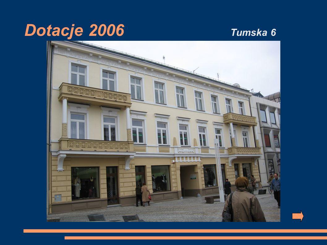 Dotacje 2006 Tumska 6