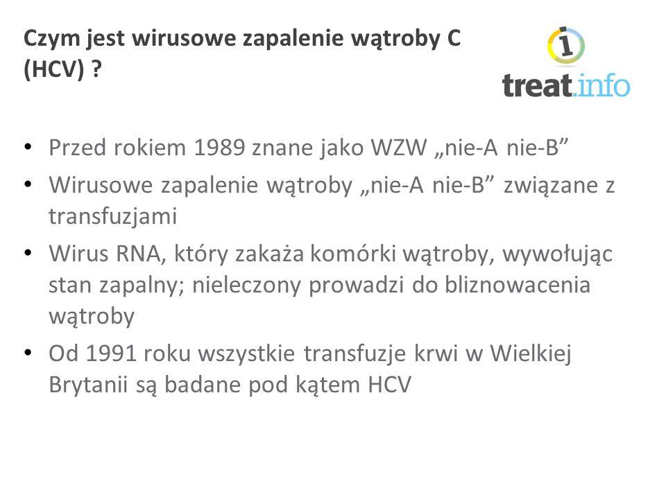 Czym jest wirusowe zapalenie wątroby C (HCV) .