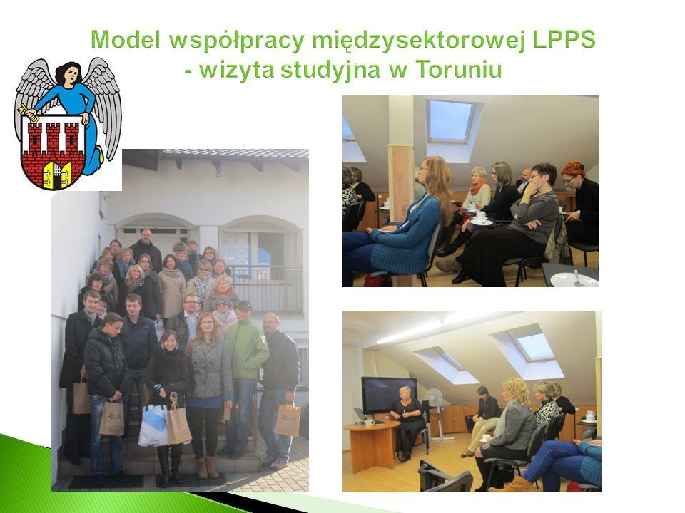 Model współpracy międzysektorowej LPPS - wizyta studyjna w Toruniu