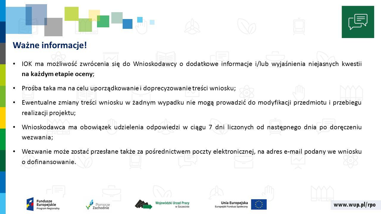 www.wup.pl/rpo Ważne informacje.