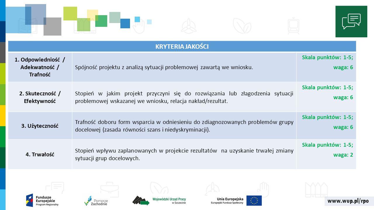 www.wup.pl/rpo KRYTERIA JAKOŚCI 1.