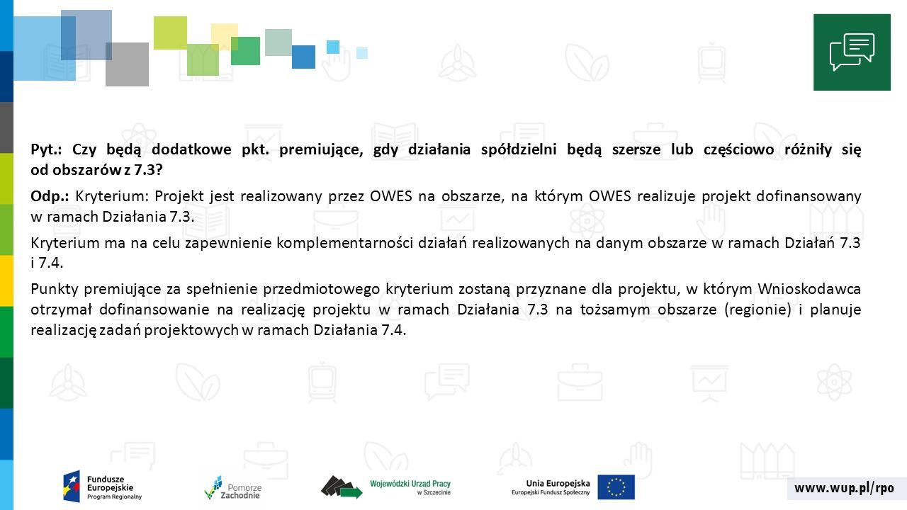 www.wup.pl/rpo Pyt.: Czy będą dodatkowe pkt.