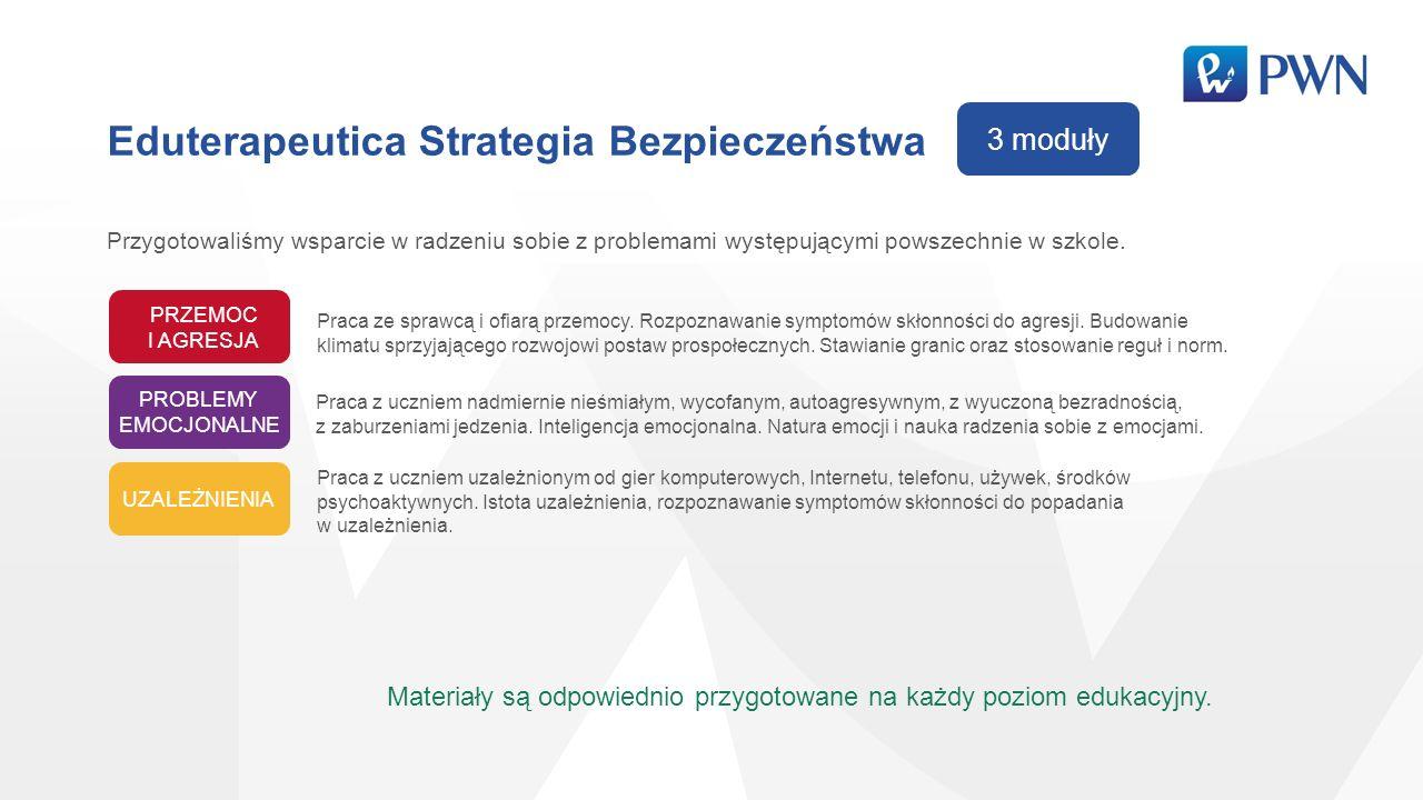 Eduterapeutica Strategia Bezpieczeństwa Przygotowaliśmy wsparcie w radzeniu sobie z problemami występującymi powszechnie w szkole.
