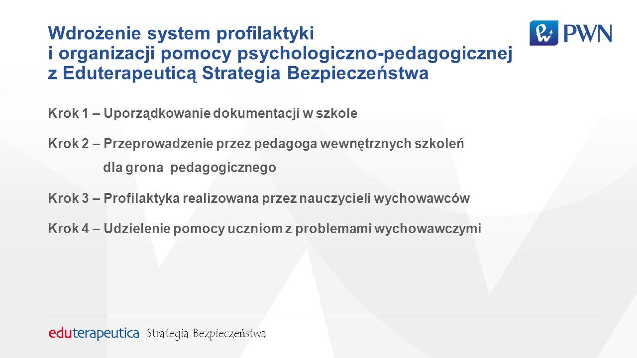 Krok 3 – Profilaktyka realizowana przez nauczycieli wychowawców Wstępem do pomocy psychologiczno-pedagogicznej powinna być prawidłowa diagnoza.