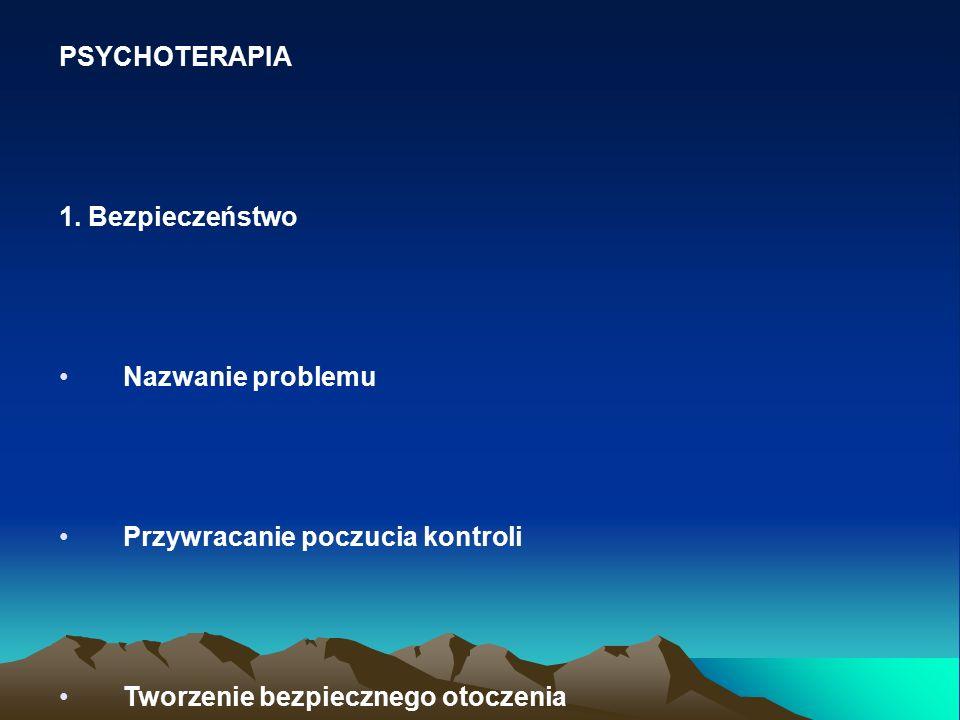 PSYCHOTERAPIA 1.