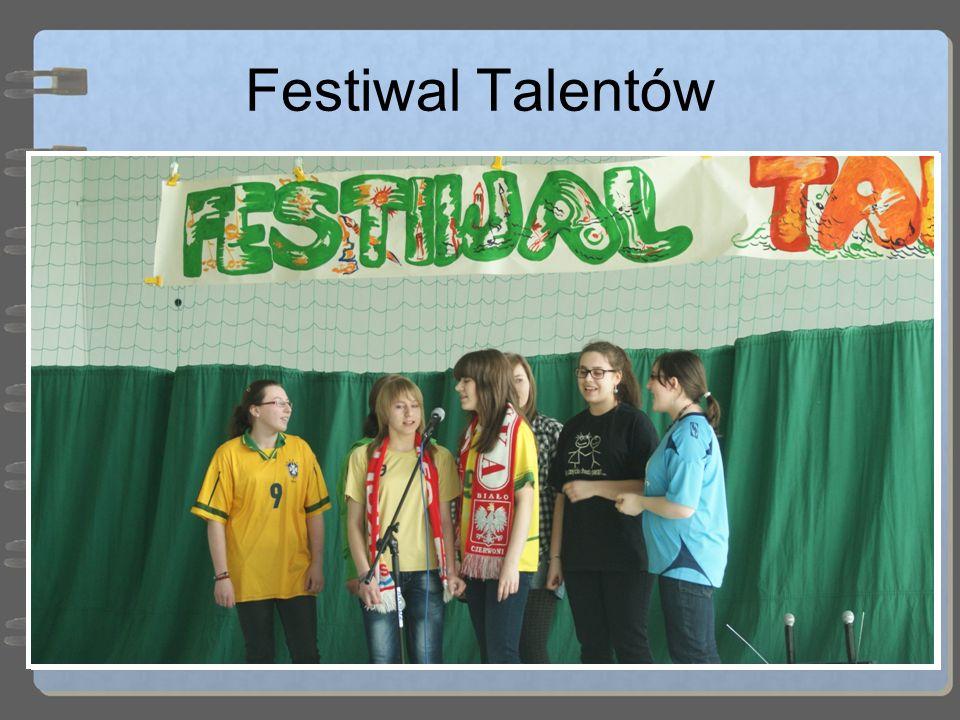Festiwal Talentów Do nowych tradycji można zaliczyć odbywający się w pierwszy dzień wiosny Festiwal Talentów, podczas którego dzieci prezentują swoje