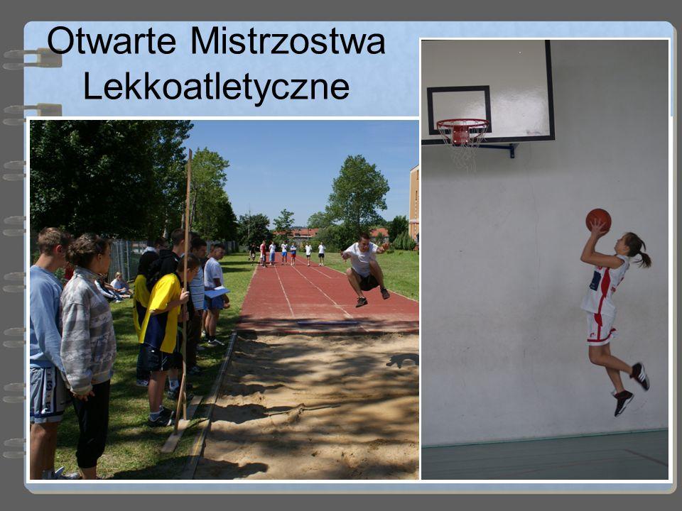 Otwarte Mistrzostwa Lekkoatletyczne Natomiast w czerwcu dzieci rywalizują ze sobą w dyscyplinach lekkoatletycznych. W tym roku Mistrzostwa odbędą się