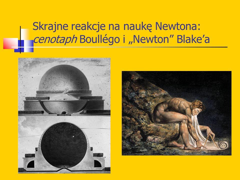 "Skrajne reakcje na naukę Newtona: cenotaph Boullégo i ""Newton"" Blake'a"