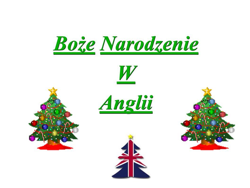 Boże Narodzenie WAnglii