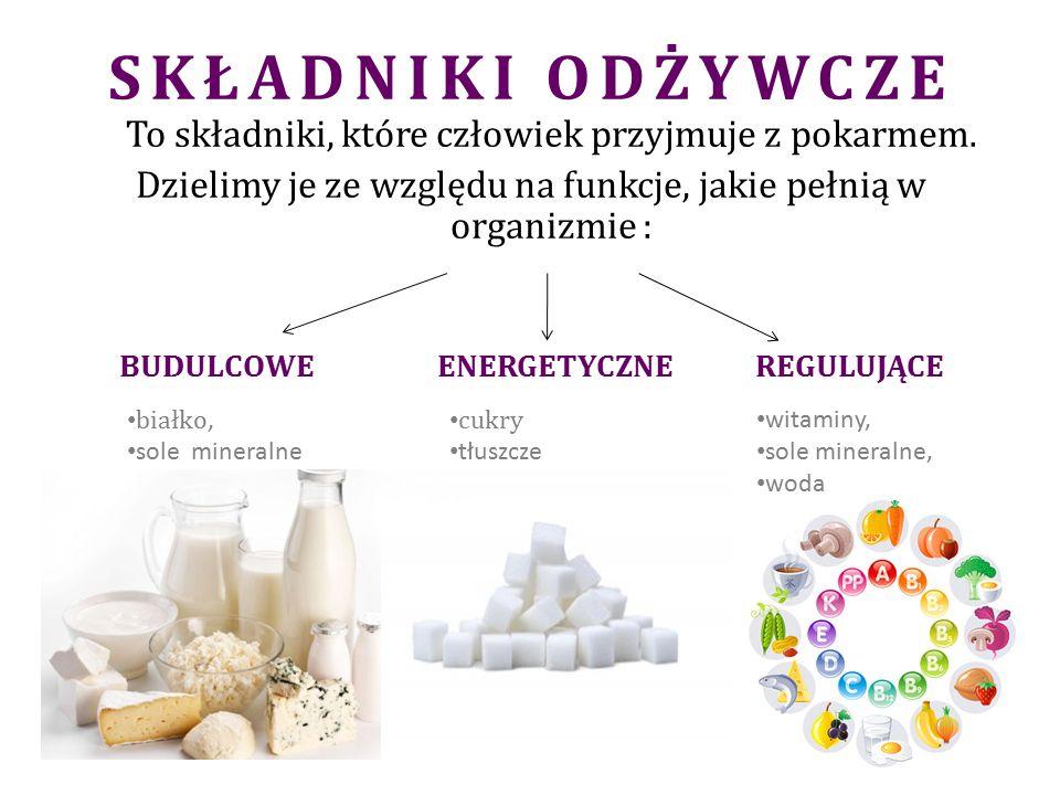 BIAŁKA to związki wielocząsteczkowe zbudowane z reszt aminokwasowych, połączonych wiązaniem peptydowym Dzielimy je na: ROŚLINNE ZWIERZĘCE Dostarczają wszystkich niezbędnych aminokwasów np.