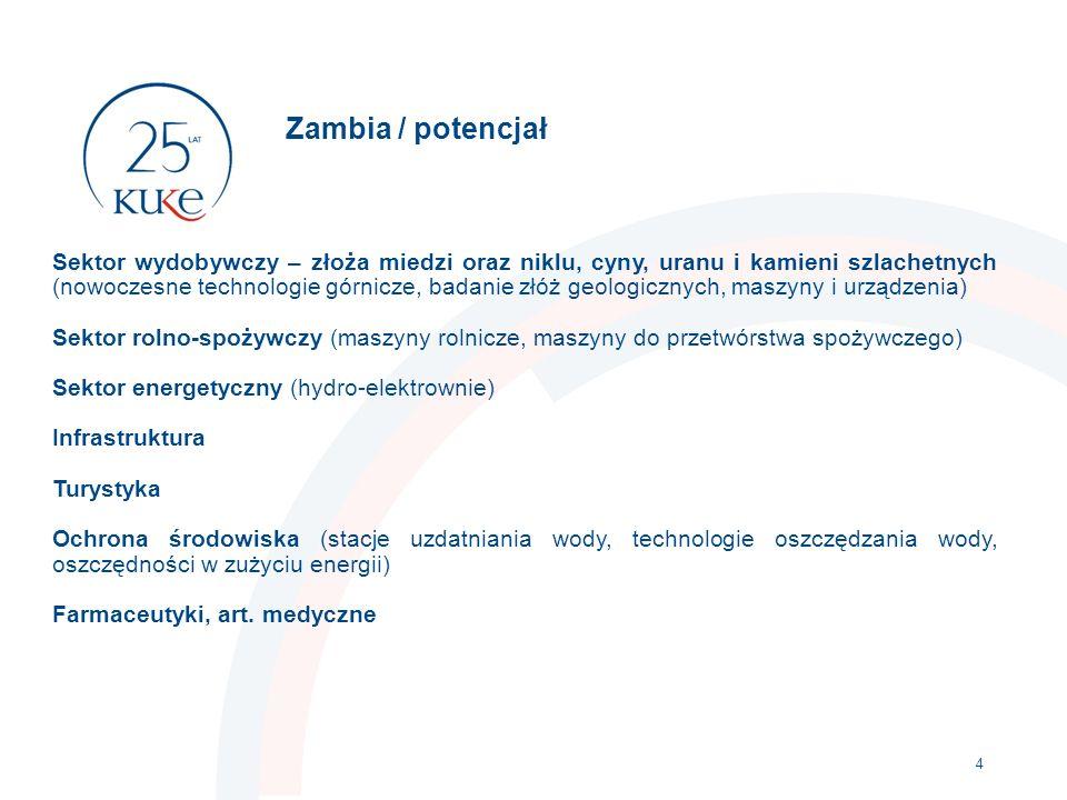 Ubezpieczenie należności (kredyt kupiecki) dla polskich eksporterów towarów i usług 5  TOWARY (np.